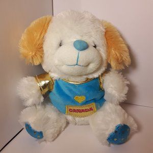 Vintage Puppy Plush 8 inches NWOT